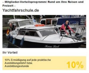 ADAC Rabatt Bootsführerschein Hannover