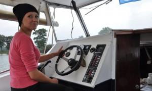 praktische Fahrstunde Yachtfahrschule